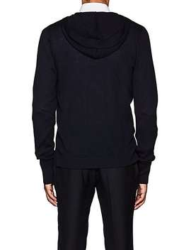 Wool Zip Front Hoodie by Officine Generale