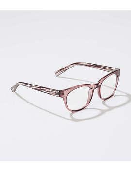 Tortoiseshell Print Square Reading Glasses by Loft