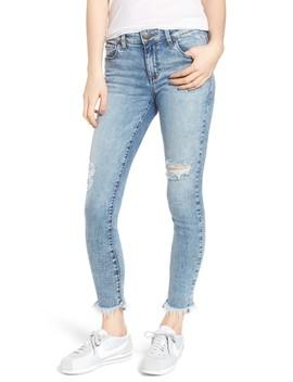 Emma Fray Hem Ankle Skinny Jeans by Sts Blue