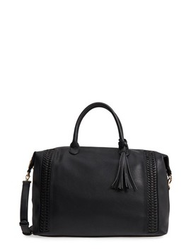 Tara Whipstitched Faux Leather Weekend Bag by Sole Society