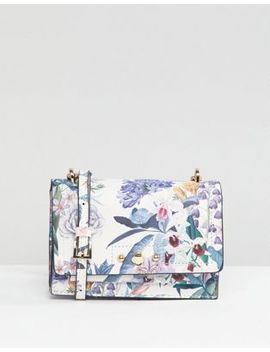 Accessorize Bloomsbury Print Priscilla Cross Body Bag by Accessorize