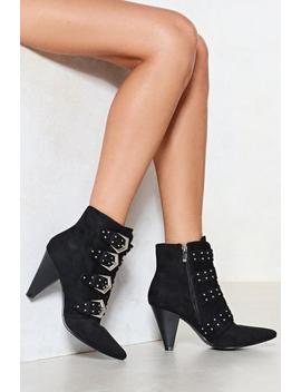 Been And Cone Studded Bootie by Nasty Gal