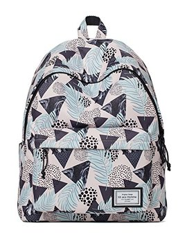 Mrace Homme Women's School College Backpack With 14 Inch Laptop Compartment by Jollychic