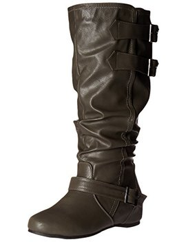 Brinley Co Women's Cammie Xwc Slouch Boot by Brinley+Co