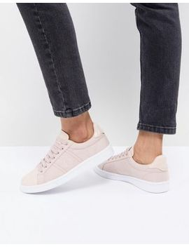 Fred Perry Lace Up Sneakers With Patent Trim by Fred Perry