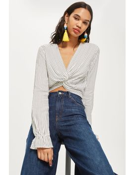 Twist Front Blouse by Topshop