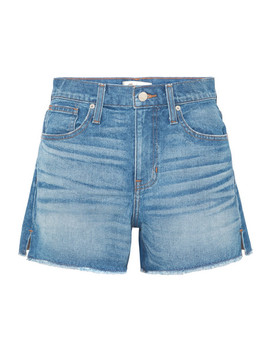 The Vintage Perfect Frayed Denim Shorts by Madewell