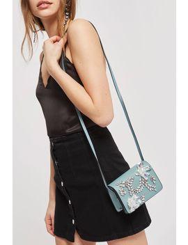 Frozen Embellished Cross Body Bag by Topshop