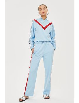 Side Striped Track Top And Pants Set by Topshop