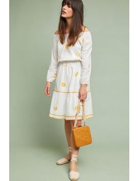 Milazzo Embroidered Dress by Nimo With Love