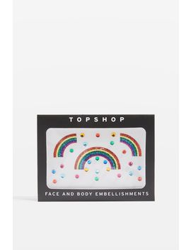 Topshop Face And Body Rainbow Embellishments by Topshop