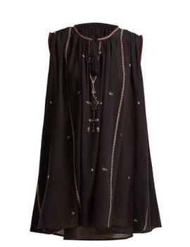 Malya Embroidered Cotton Dress by Isabel Marant Étoile