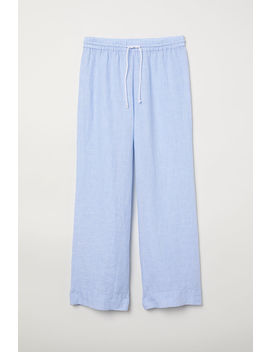 Linen Pajama Pants by H&M