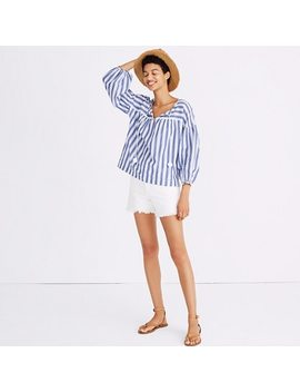 Peasant Top In Shea Stripe by Madewell