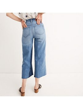 Wide Leg Crop Jeans: Gusset Edition by Madewell