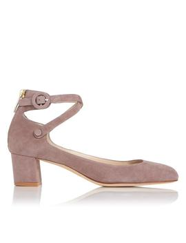 Polly Pink Suede Heels by L.K.Bennett