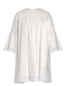 Lace Trimmed Cotton Dress by Sonia Rykiel