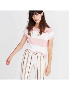 Setlist Boxy Top In Norfolk Stripe by Madewell