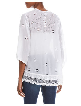 Charming Embroidered Tunic by Neiman Marcus
