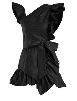 Malvern Ruffle Trimmed Cotton Dress by Isabel Marant