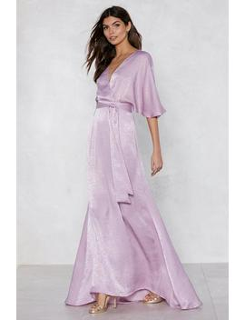 Rise To The Occasion Maxi Dress by Nasty Gal