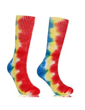Funny Knee High Casual Socks,Unisex Funky Novelty Fashion Colorful For Gift Sports 2 Or 4 Pairs, by Amazon