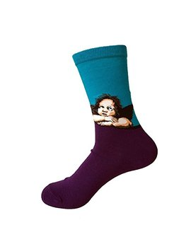 Dsuk Women's Famous Art Painting Calf Sock Casual Funny Novetly Masterpiece Artwork Long Ankle Socks by Amazon