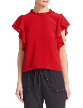 Summer Crepe Blouse by Red Valentino