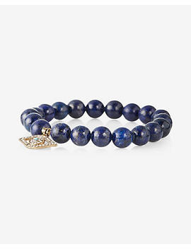 Evil Eye Beaded Stretch Bracelet by Express