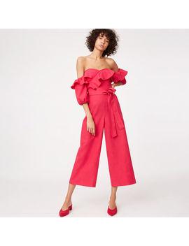 Rakita Linen Jumpsuit by Club Monaco