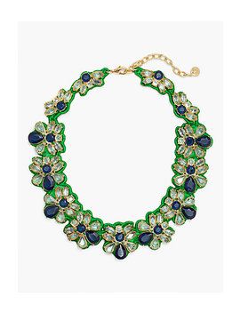 Fabric Backed Necklace by Talbots