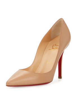 Apostrophy Pointed Red Sole Pump by Christian Louboutin