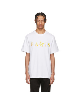 White 'pamris' T Shirt by Perks And Mini
