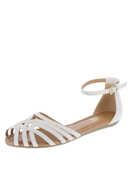 Women's Scorpion Two Piece Flat Sandal by Learn About The Brand Brash