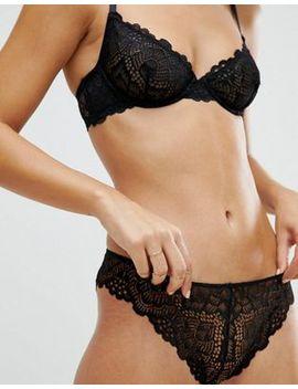 Asos Rita Basic Lace Mix & Match Hipster Bikini Bottom by Asos Collection