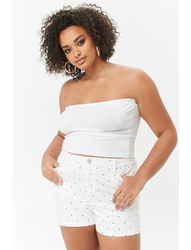 plus-size-polka-dot-shorts by forever-21