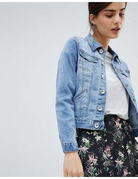 Oasis Pocket Detail Denim Jacket by Oasis