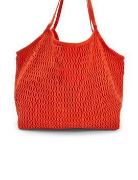 Crochet Netted Tote by Forever 21