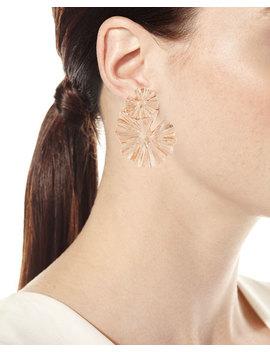wildflower-statement-clip-on-earrings by oscar-de-la-renta