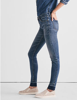 Ava Mid Rise Legging Jean With Extended Release by Lucky Brand