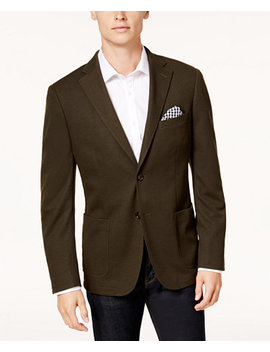 Men's Slim Fit Knit Sport Coat, Created For Macy's by Bar Iii
