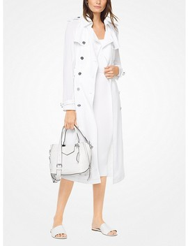 Lightweight Woven Trench Coat by Michael Michael Kors