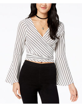 Juniors' Striped Crop Top by Polly & Esther