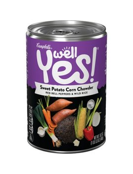 Campbell's Well Yes! Sweet Potato Corn Chowder, 16.3 Oz (4 Packs) by Campbell's