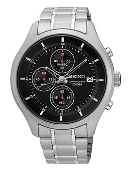 Men's Chronograph Special Value Stainless Steel Bracelet Watch 43mm Sks539 by Seiko