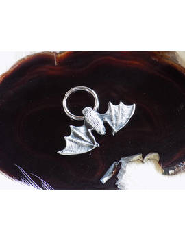 Bat Keychain For The Nature Loving Vampire. by Etsy