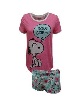 Peanuts Snoopy Good Grief Pajama Set by Walmart