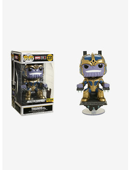 Funko Marvel Studios The First 10 Years Pop! Thanos (With Throne) Vinyl Bobble Head Hot Topic Exclusive by Hot Topic