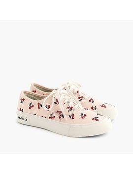 Sea Vees® For J.Crew Legend Sneakers With Embroidered Fruit by Sea Vees