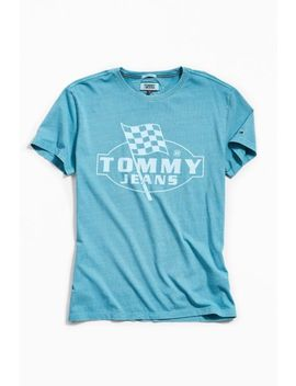Tommy Jeans Finish Line Tee by Tommy Jeans